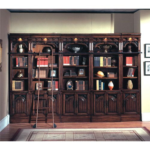 Parker House Barcelona Wall Unit Bookcase
