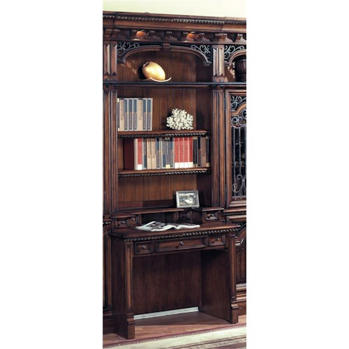 Parker House Barcelona Two-Piece Library Desk