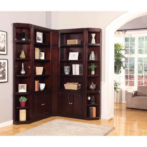 Parker House Boston Corner Bookcase Unit