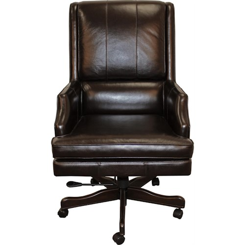 Morris Home Furnishings Easton Leather Desk Chair