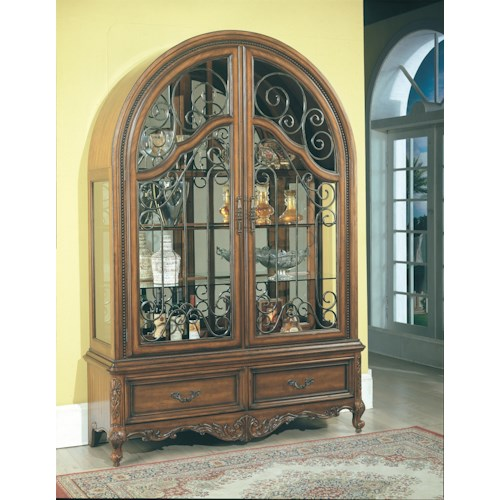 Parker House Granada Collector's Cabinet