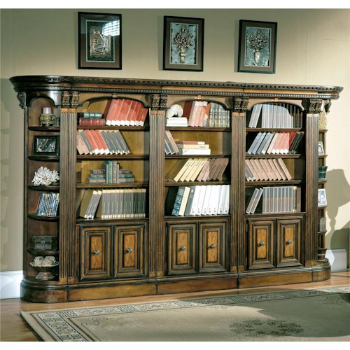 Parker House Huntington Small Wall Unit Bookcase