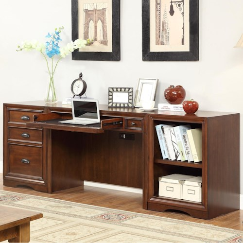 Parker House Napa 3 Piece Desk with File Storage
