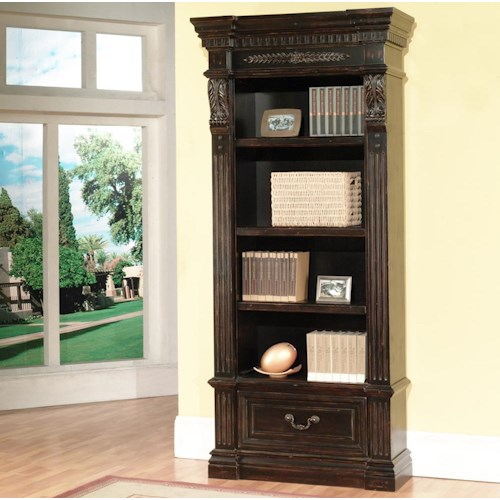 Parker House Palazzo  Museum Single Bookcase Combination