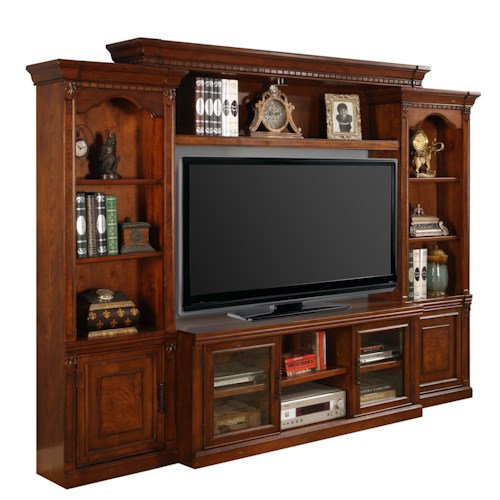 Parker House Premier Athens Entertainment Wall Unit