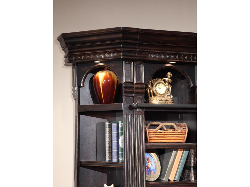 Can Light in Each Bookcase and Outside Corner Unit