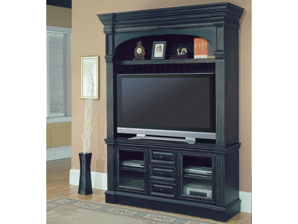Shown as Part of Entertainment Center