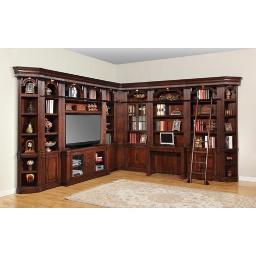 Incredible Parker House Wellington Full Library Wall With Entertainment Unit Inspirational Interior Design Netriciaus
