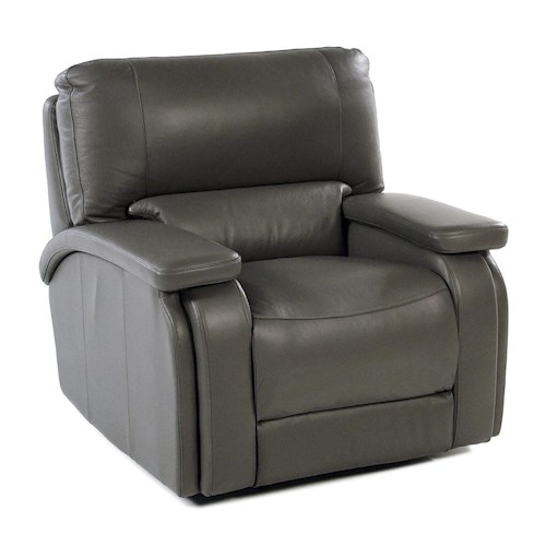 Parker Living Puma Casual Power Recliner with Pad Over Arms