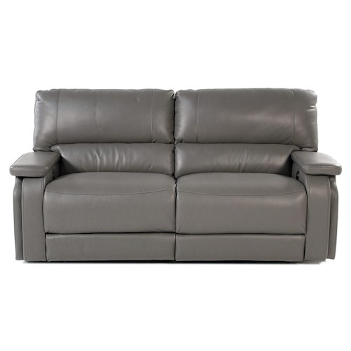 Parker Living Puma Casual Power Reclining Sofa with Pad Over Arms