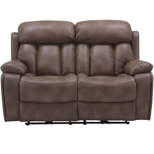 Parker Living Baron Causal Reclining Love Seat with Pillow Top Arms