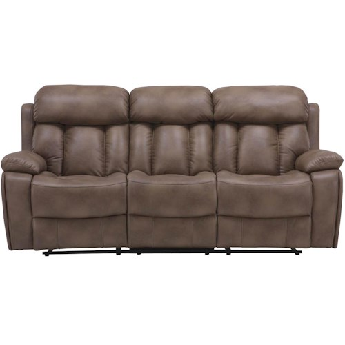 Parker Living Baron Casual Reclining Sofa with Pillow Top Arms