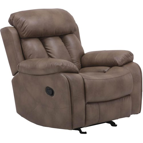 Parker Living Baron Casual Recliner with Plush Pillow Top Arms