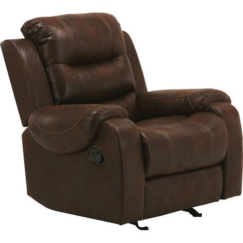 Parker Living Brahms Casual Glider Recliner with Padded Arms