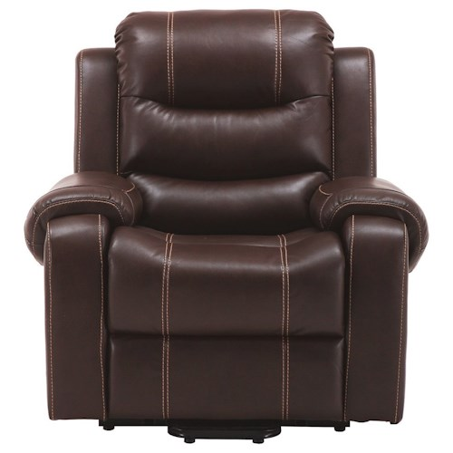 Parker Living Brahms Casual Reclining Lift Chair with Bustle Back