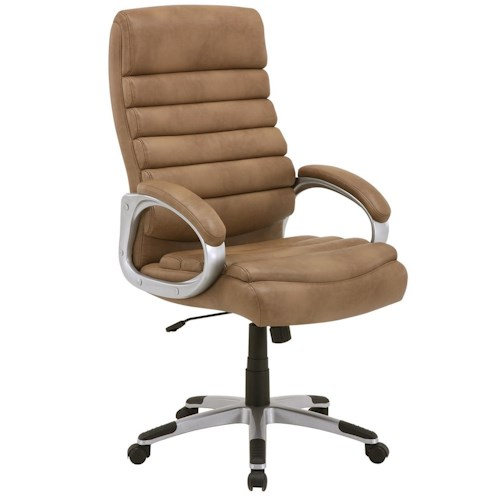 Parker Living Desk Chairs Desk Chair with Ribbed Seat and Seat Back
