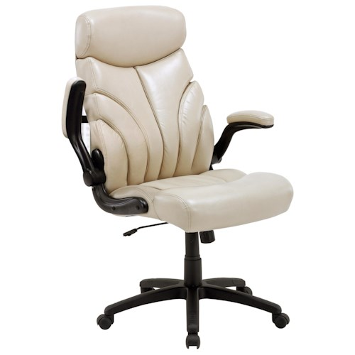Parker Living Desk Chairs Contemporary Desk Chair with Lift Arms