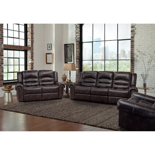 Parker Living Gershwin Reclining Living Room Group