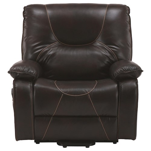 Parker Living Handel Heavy Duty Reclining Lift Chair with Lay Flat Feature