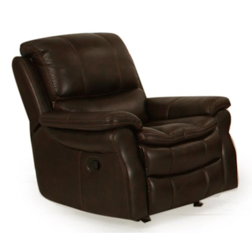Parker Living Juno Power Recliner with Pillow Arms and Bucket Seat