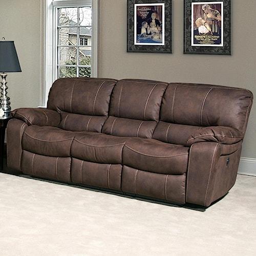Parker Living Jupiter Casual Dual Reclining Sofa with Split Back