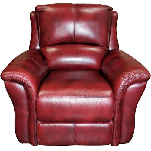 Parker Living Lewis Casual Power Recliner with Split Backs