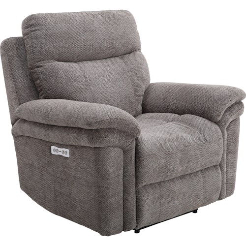 Parker Living Mason Casual Power Recliner with Power Headrest