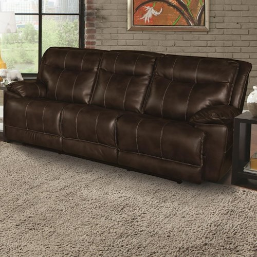 Parker Living Phoenix Dual Power Reclining Sofa with Pillow Arms