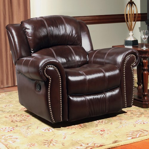 Parker Living Poseidon Transitional Recliner Power