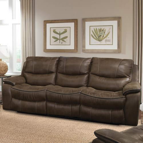 Parker Living Remus Casual Power Dual Recliner Sofa