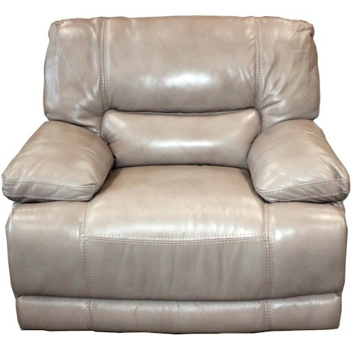 Parker Living Socrates Casual Power Recliner with Pillow Top Arms