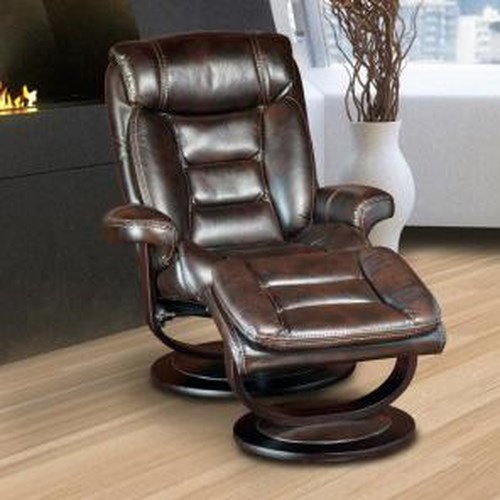Parker Living Triton Swivel Recliner and Ottoman