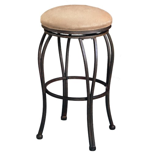 Pastel Minson Barstool Collection Bar Stool with No Seat Back