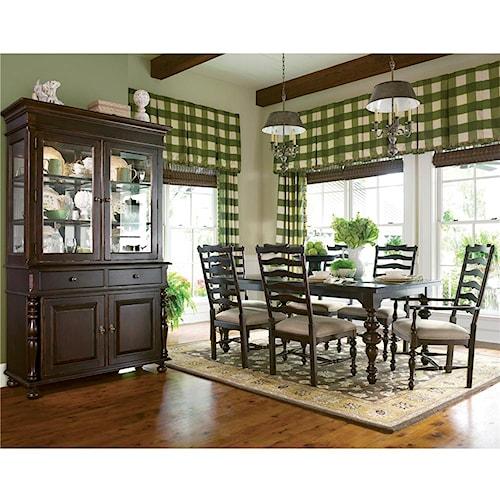 Paula Deen by Universal Paula Deen Home 9Pc Dining Room