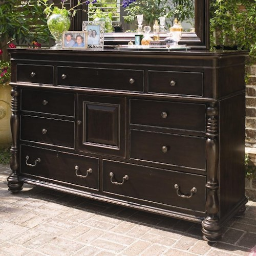 Morris Home Furnishings Paula Deen Home Door Dresser with 9 Drawers