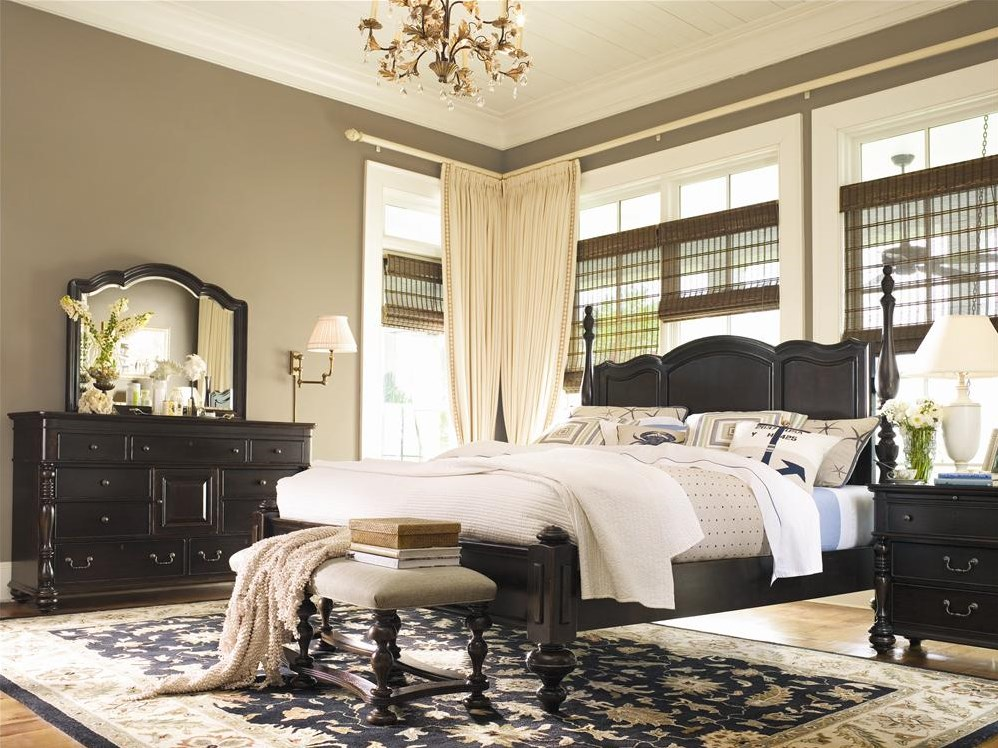 Shown with nightstand and bed end bench