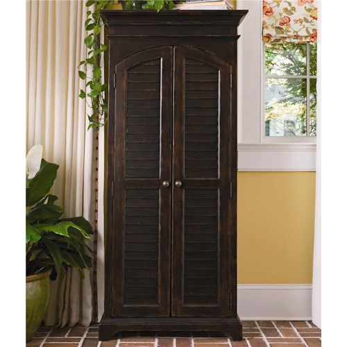 Paula Deen by Universal Paula Deen Home Utility Cabinet with Louvered Doors