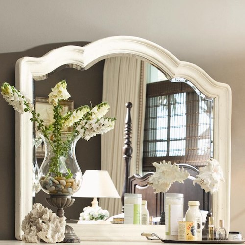 Morris Home Furnishings Pinehurst Decorative Landscape Mirror
