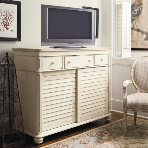 Paula Deen by Universal Paula Deen Home The Lady's Dresser with 2 Sliding Doors