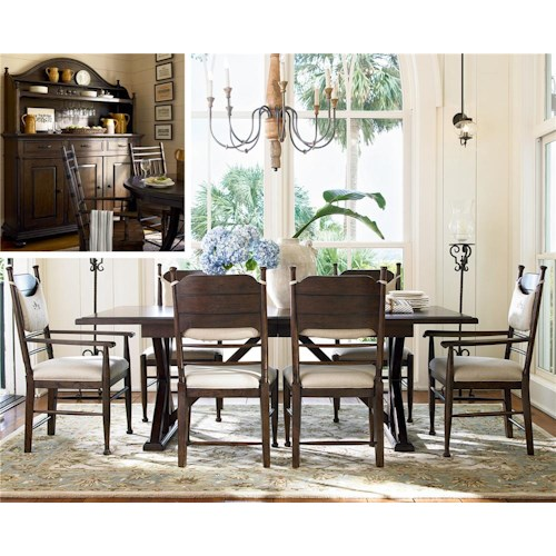 Paula Deen by Universal Down Home 9Pc Dining Room