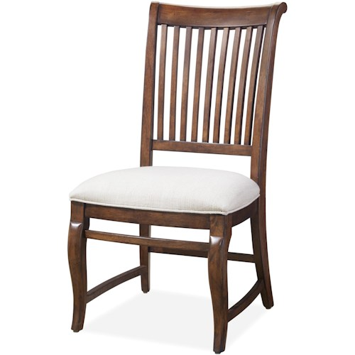 Paula Deen by Universal Dogwood Dogwood Side Chair with Slat Back
