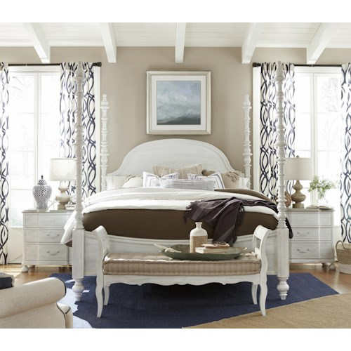 Paula Deen by Universal Dogwood Queen Bedroom Group