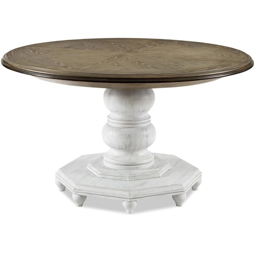 Universal Dogwood Breakfast Table with One 18