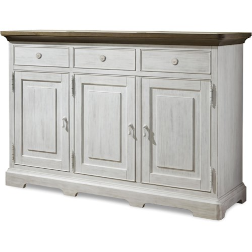 Universal Dogwood Credenza with 3 Doors