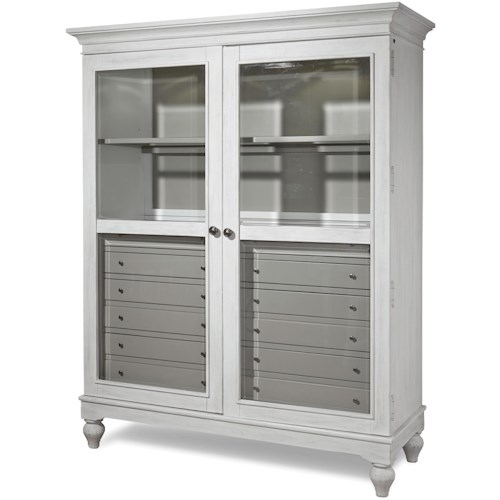 Paula Deen by Universal Dogwood The Bag Lady Cabinet with Touch Lighting