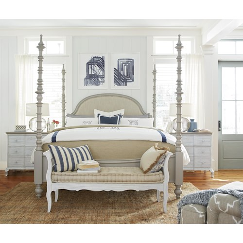 Paula Deen by Universal Dogwood California King Bedroom Group