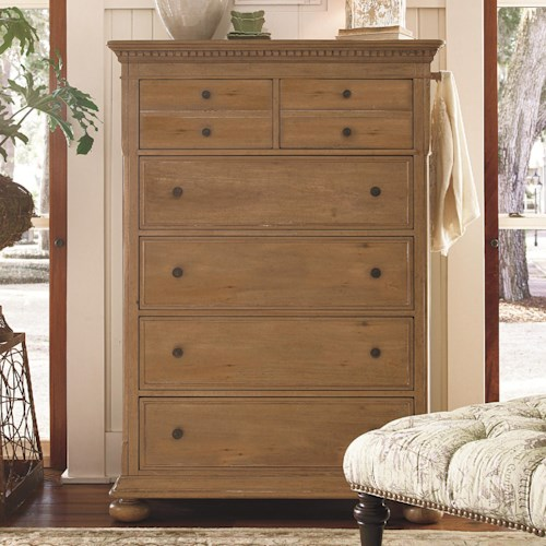 Morris Home Furnishings Pineridge 6-Drawer Chest