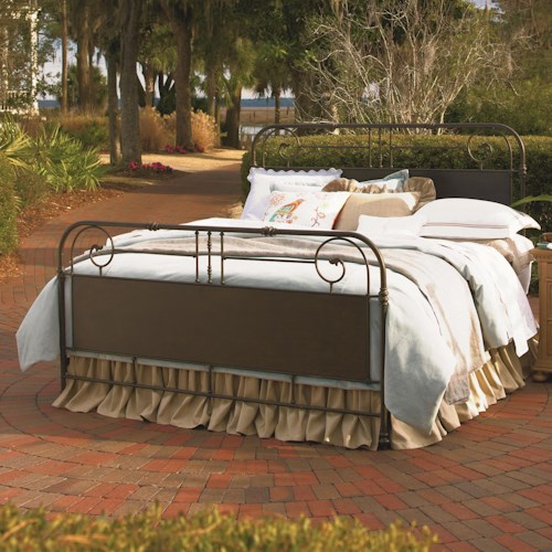 Universal Down Home Queen Garden Gate Bed