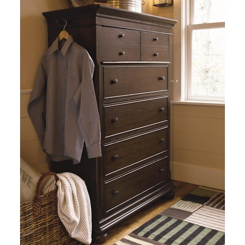 Morris Home Furnishings Pine Bluff 6-Drawer Chest