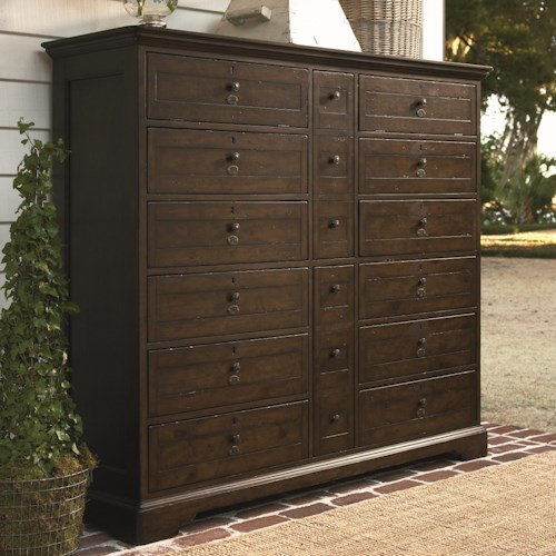 Universal Down Home Bubba's Chest with 14 Drawers